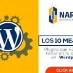 10 Plugins de wordpress imprescindibles en tu sitio web